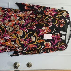 Never worn Julie Brown mod print sheath